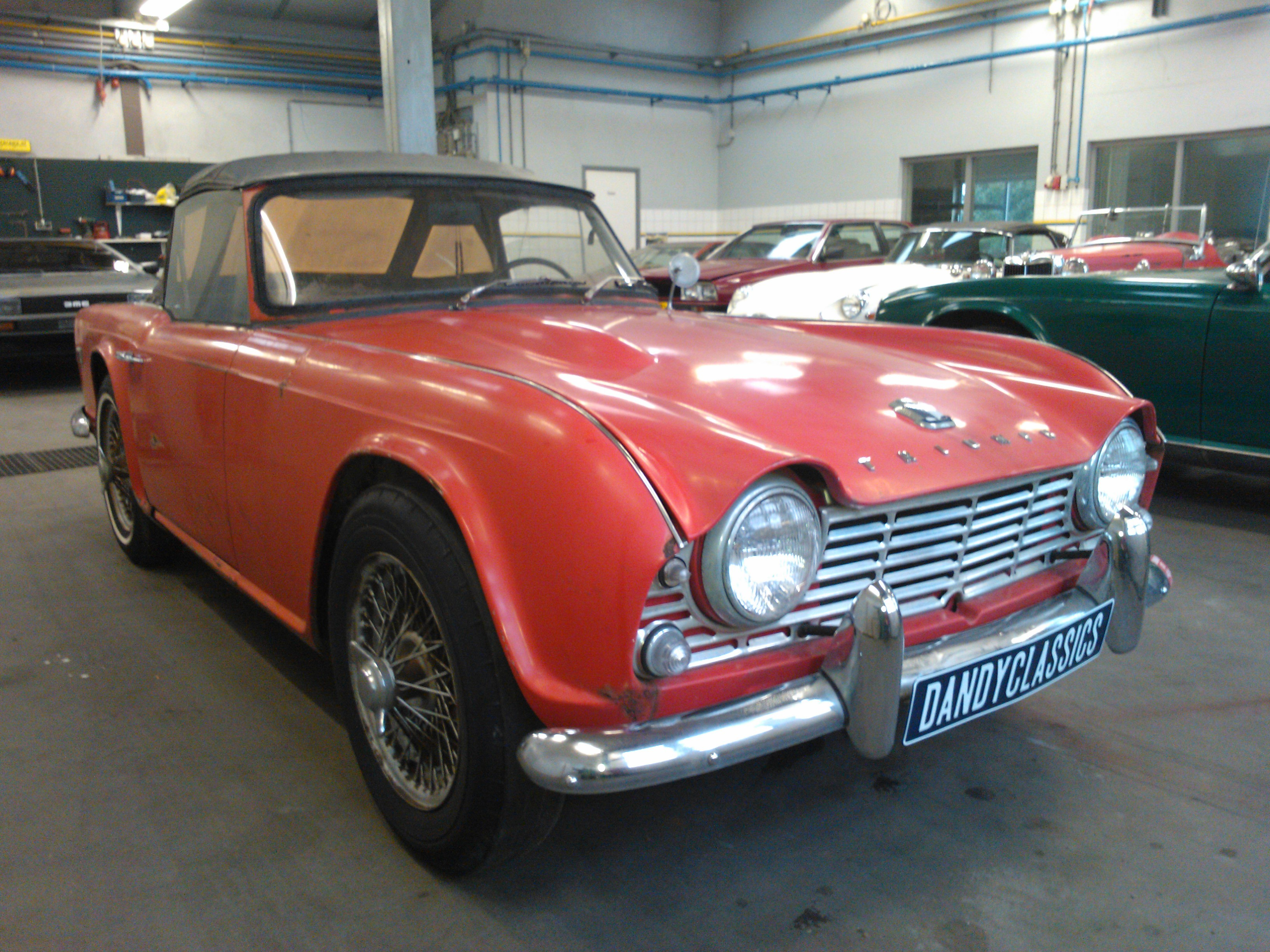 1964 Triumph Tr4 For Sale Dandy Classics