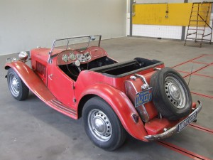 MG TD restauratie object
