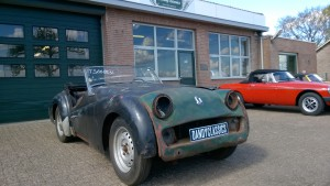 Triumph tr3 for restoration