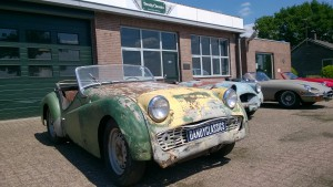 Triumph TR3A 1959