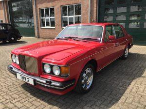 Bentley Eight red