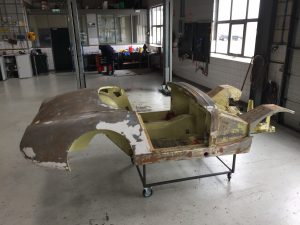 Sprite Mk1 body tub restoration
