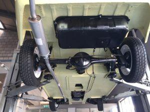 Austin-Healey Sprite restoration