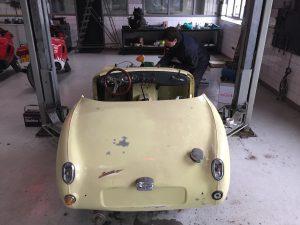 Austin Healey Sprite restoration
