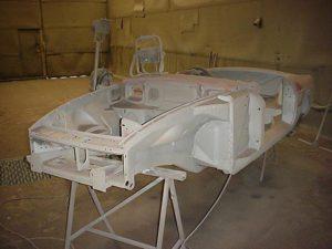 MG classic car restoration
