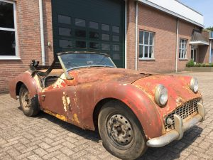 Triumph TR3A 1960 for restoration