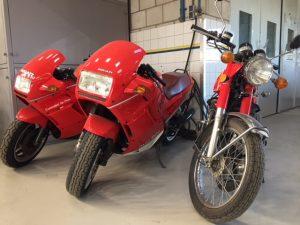 Motorstalling Nijmegen Boxmeer Ducati