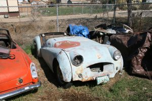 Triumph TR2 barn find in need of restoration