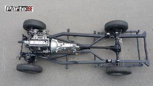 Triumph TR2 chassis