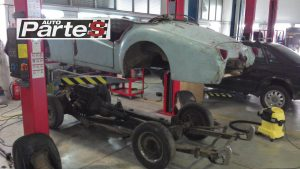 body off restoration british sports car