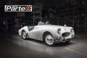 Triumph TR2 post restoration