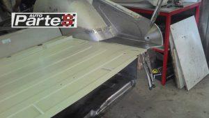 Triumph body work restoration welding