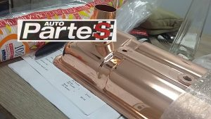 TR valve cover chrome