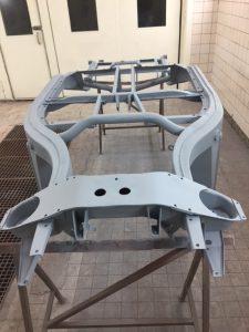 MGA chassis epoxy primer