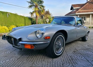 (English) Jaguar E-type V12 FHC restoration: on the road to Santiago