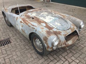 MG MGA roadster project car