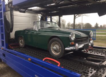 Safe delivery of your classic car in times of COVID